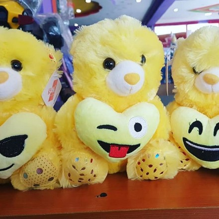 Emoji Teddy Bears - Says 'I Love You'