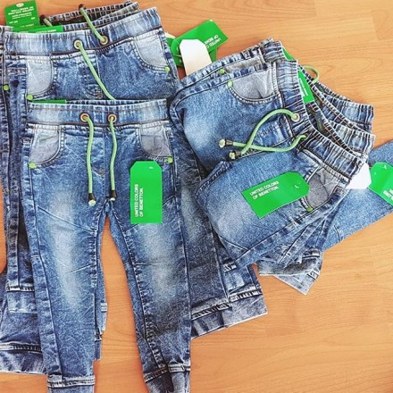 United Colours of Benetton Boys Skinny Jeans - Ages 2-7yrs