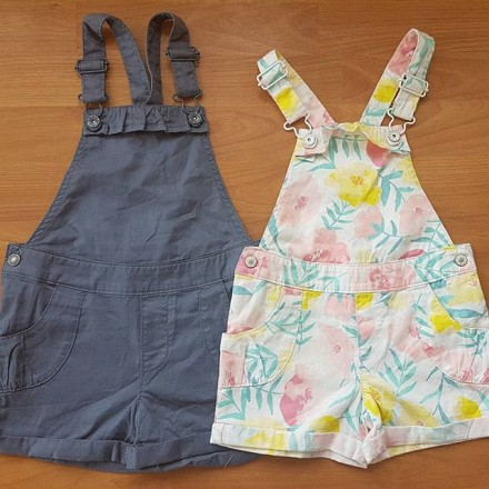 United Colours of Benetton Girls Dungarees  - 2yrs, 3yrs