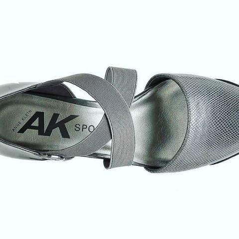 AK Anne Klein Sport Teaberry Wedge Pump, Grey  - Size - US 6 / Eur 38