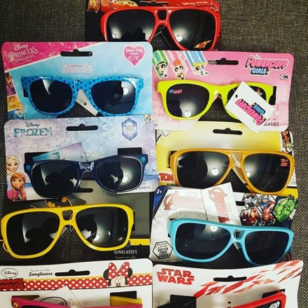 Kids Sunglasses - assorted characters