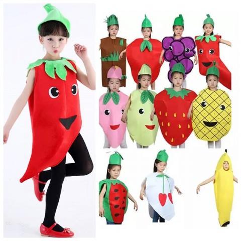 Fruit Costumes - Unisex - 2-7yrs