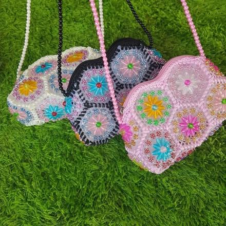 Girls Beaded Handbags