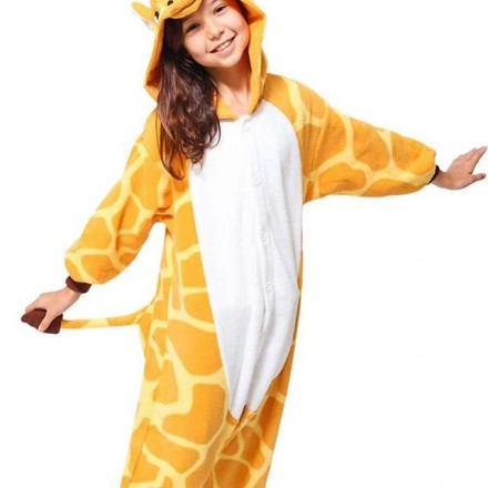 Giraffe Kids Costume - Unisex - 3-12yrs