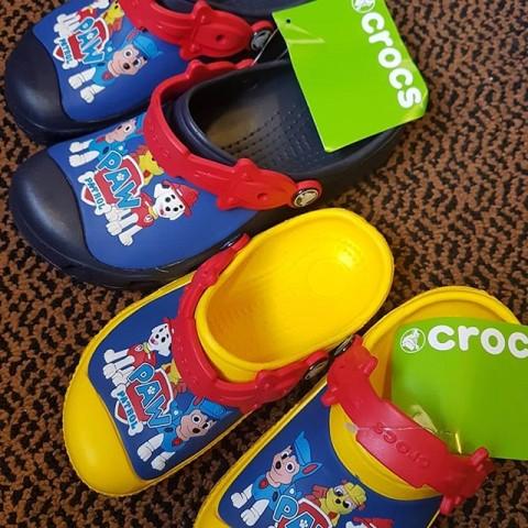 Paw Patrol Original Crocs - Size 10- 3