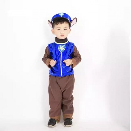 Paw Patrol Chase Kids Costume - 4-6yrs