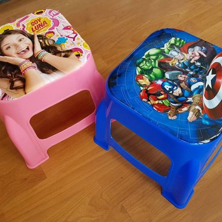 Cartoon Plastic Stools for Toddlers