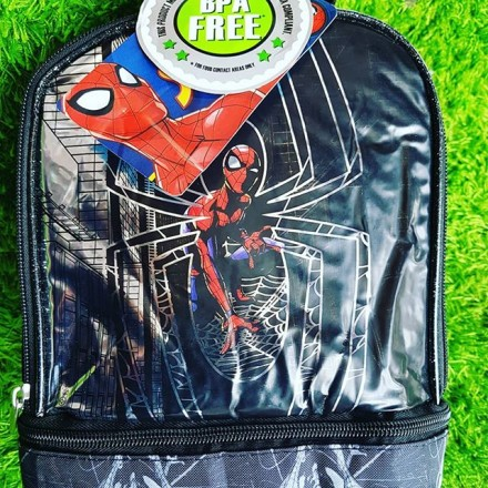 Spiderman Dual Insulated Lunch Bag