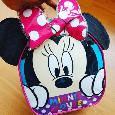Disney Minnie 3D Insulated Lunch Bag
