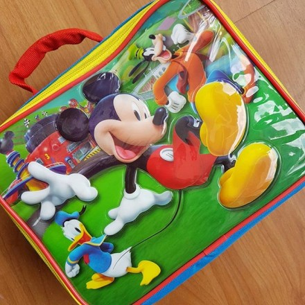 Mickey Mouse Insulated Lunch Bag
