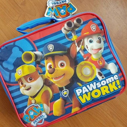 Paw Patrol Insulated Lunch Bag - PAWsome Work