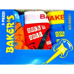 Bakers 3 pack boys cotton boxers 3-10yrs