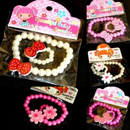 Beautiful baby Jewelry - Bracelet & Ring set