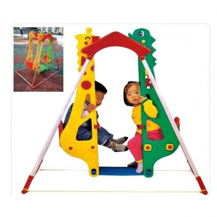 Children Double Swing- Giraffe