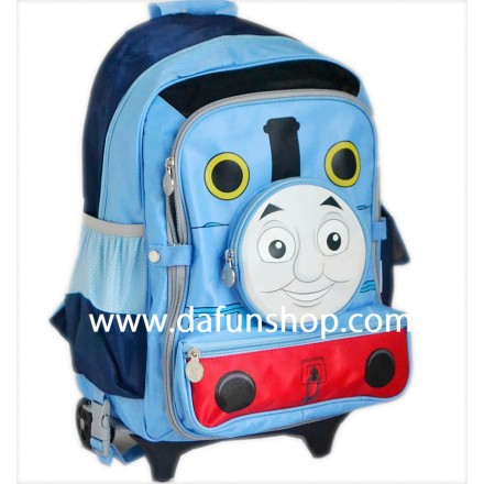 Original Licensed Thomas The Train Large Rolling Backpack- detachable- 18inches