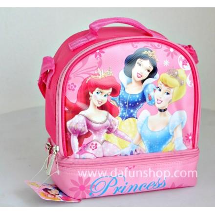 Disney princess Dual compartment Lunch bag