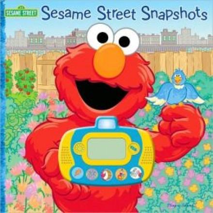 Sesame Street Snapshots: Digital Camera Sound Book