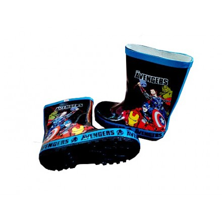 Boys Marvel Avengers Wellington Boots- Size 24-33