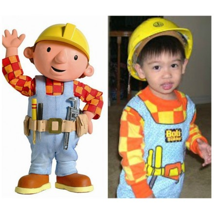 Bob The Builder Boys Costume- 5-8yrs