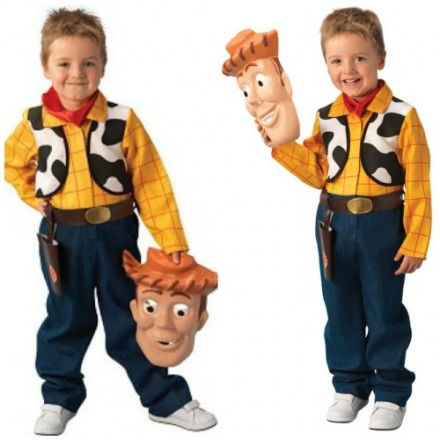 Deluxe Toy Story Woody Costume- Large (7-8yrs)
