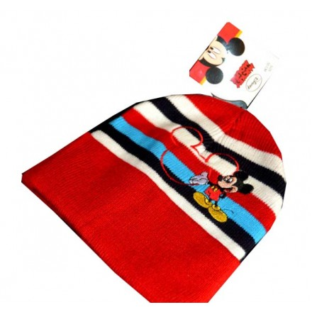 Disney Mickey Mouse Warm Beanie Hat- 50cm (1-3yrs)
