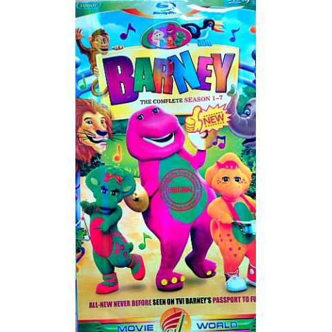 Barney 7 DVD Box Collection- all Barney Episodes in one box!