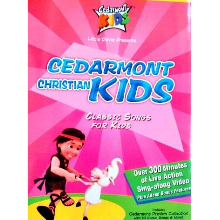 Cedarmont Christian Songs for kids 4 DVD Box Set