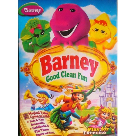 Barney 2 Episodes DVD- Play for Exercise & Good Clean Fun