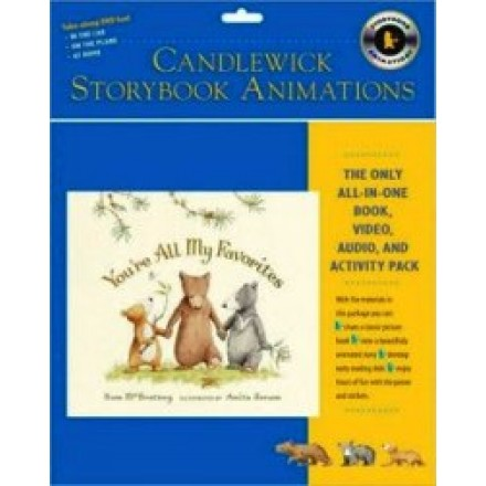 Candlewick Storybook Animations: You're All My Favorites (Book & DVD & CD)