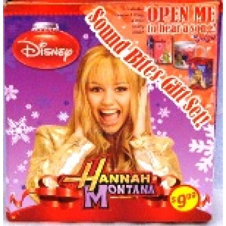 Disney Sound Bites 3pc Gift Set- Hannah & HSM