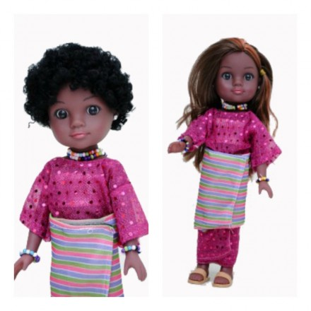 Unity Girl Nigerian Ronke Doll with Accessories