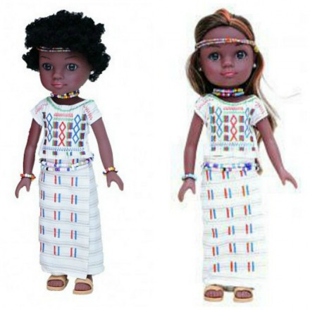 Unity Girl Nigerian Aisha Doll with Accessories
