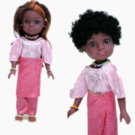 Unity Girl Nigerian Amaka Doll with Accessories