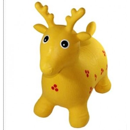 INFLATABLE ANIMAL TOY- ASSORTED COLOURS