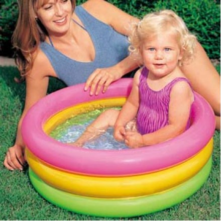 Intex Sunset Glow Baby Pool (64cm x 22cm)