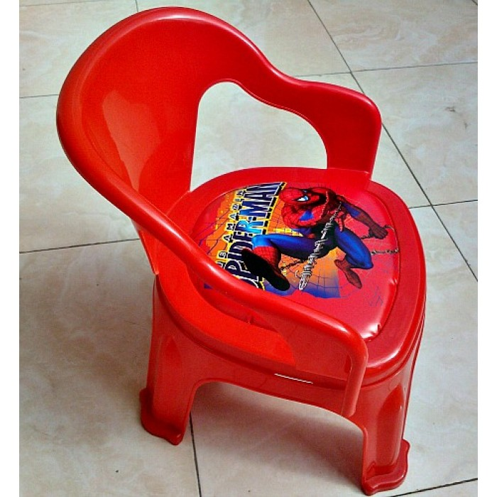 Charming Character Plastic Toddler Chairs  Assorted