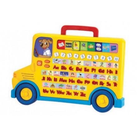 Winfun Rolling Alphabet Bus