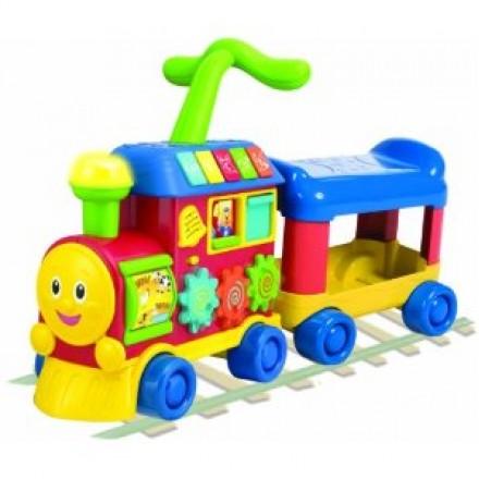Winfun Walker Ride-on Learning Train- 12-36mths