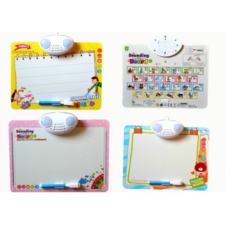 Writing Board with Sound & Light- teaches Alphabets