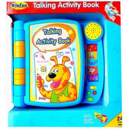 Winfun Talking Activity Book- 24mths+